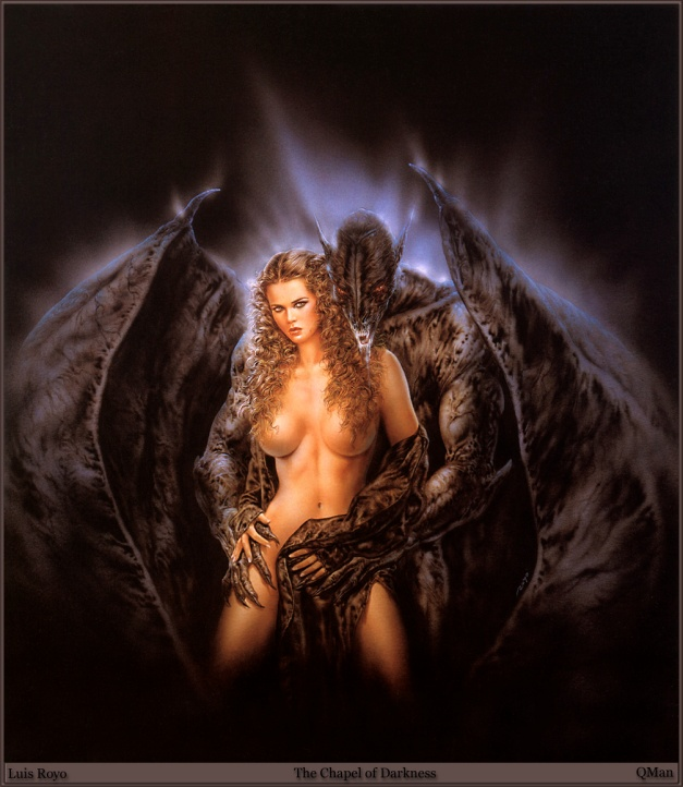 Luis Royo - The Chapel of Darkness