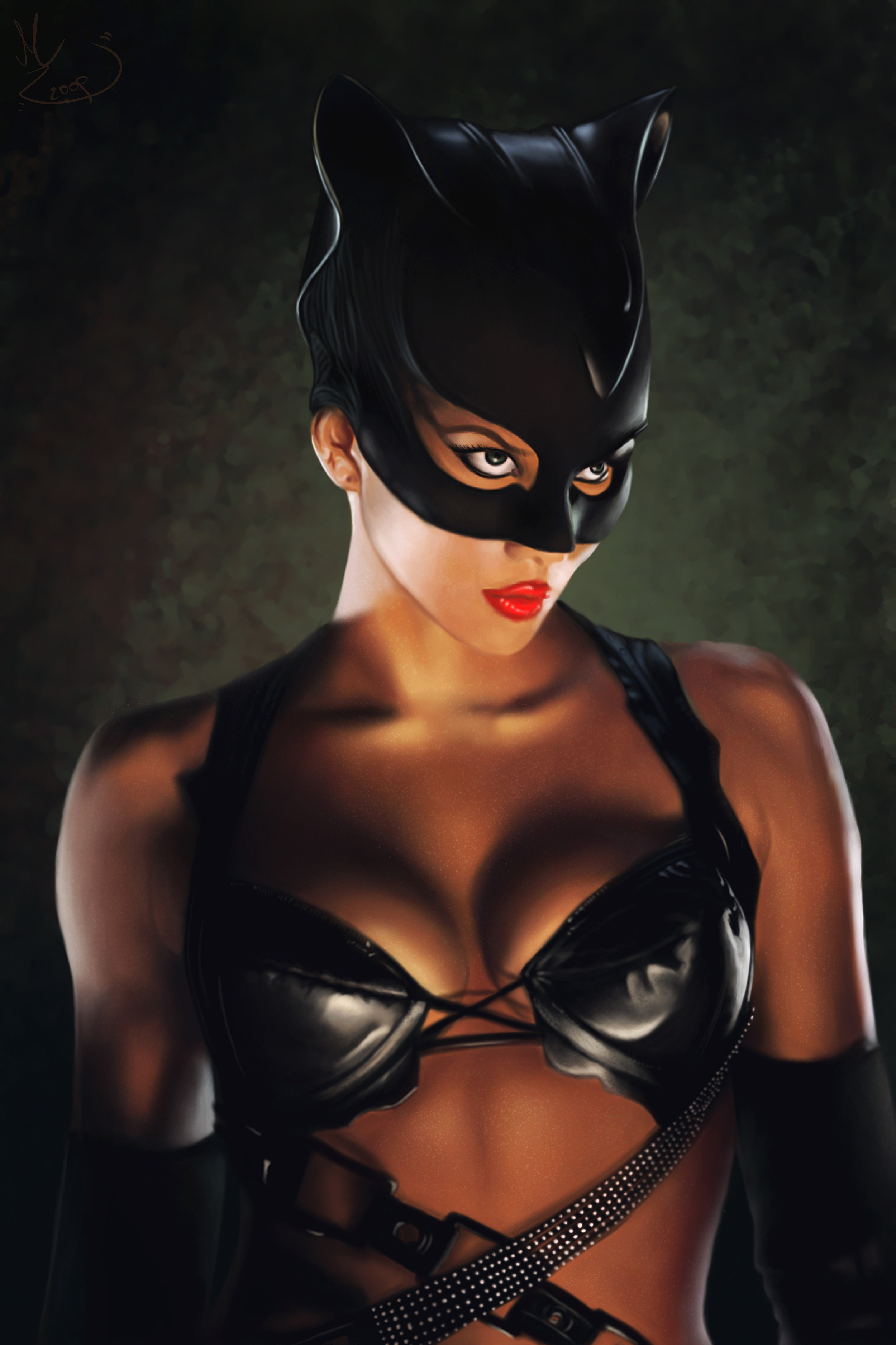 Sexy halle berry catwoman