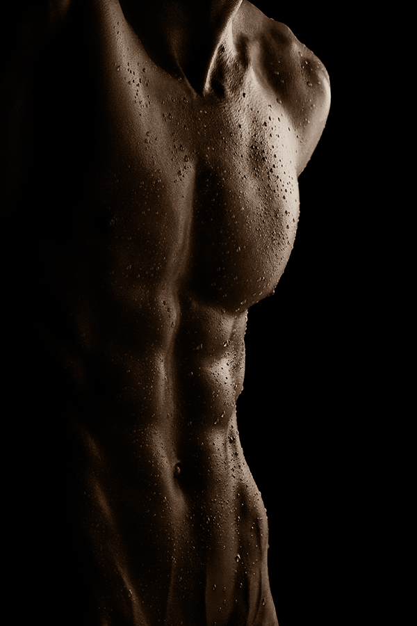 male_nude_abs_by_Torsal