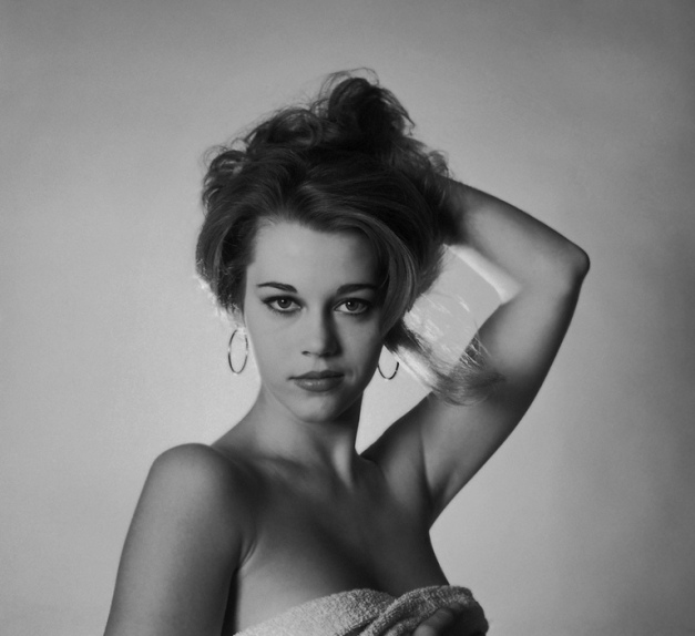 Jane Fonda, 1957-Editioned photo by Mark Shaw
