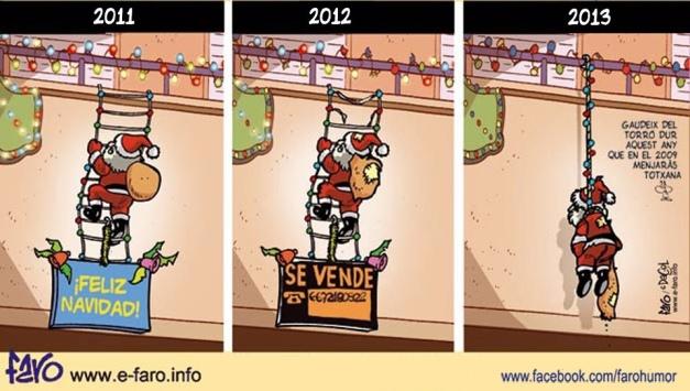 Papa Noel y la crisis