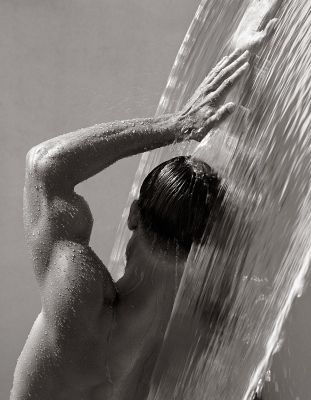 HERB RITTS Waterfall IV, Hollywood 1988_tn